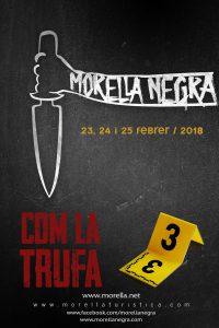 Morella negra como la trufa @ Morella