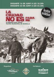 """Teatre: """"La Ciudad no es para mi"""" @ Morella"""