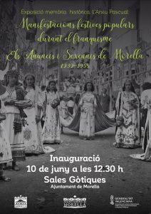 Exposició: Manifestacions festives populars durant el franquisme. Els Anuncis i Sexennis de Morella (1939-1958) @ Morella