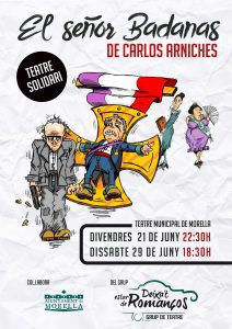 """Obra de teatro """"El señor Badanas"""" @ Morella - Teatro Principal"""